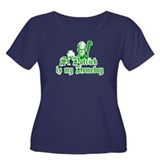 St. Patrick is my Homeboy Women's Plus Size Scoop