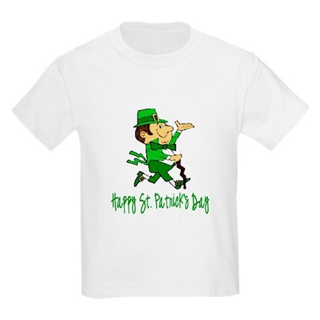 Leprechaun Dandy Kids Light T-Shirt