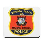 Virginia Beach Marine Patrol Mousepad