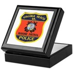 Virginia Beach Marine Patrol Keepsake Box
