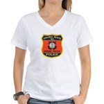 Virginia Beach Marine Patrol Women's V-Neck T-Shir