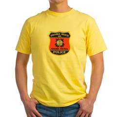 Virginia Beach Marine Patrol Yellow T-Shirt