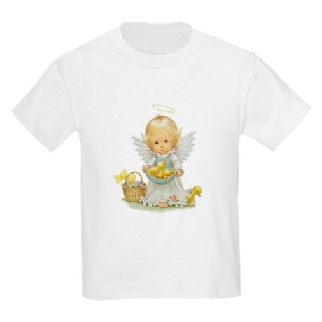 Easter Angel Kids Light T-Shirt