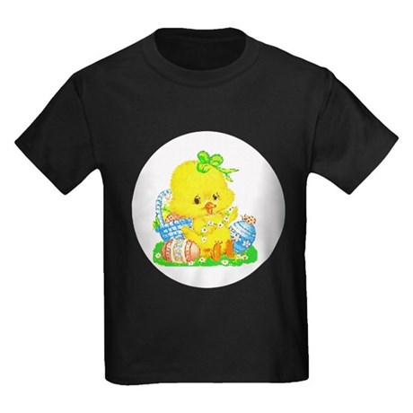 Easter Duckling Kids Dark T-Shirt