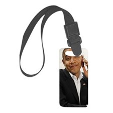 Obama phone Luggage Tag