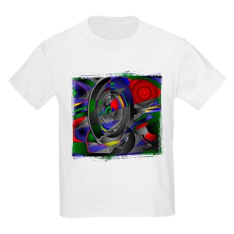 Abstract 002a Kids Light T-Shirt