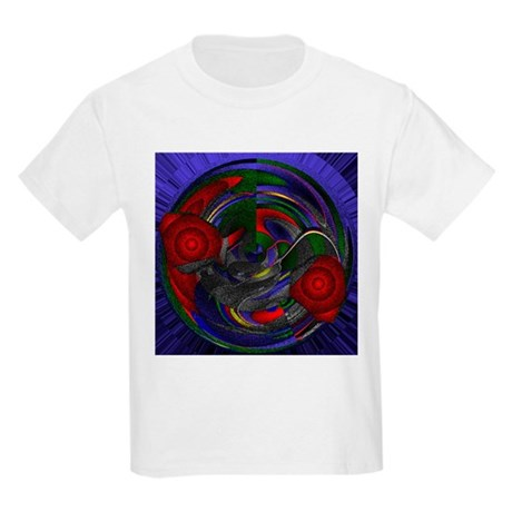 Abstract 005 Kids Light T-Shirt