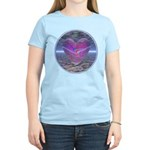 Psychedelic Heart Women's Light T-Shirt