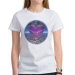 Psychedelic Heart Women's T-Shirt