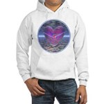 Psychedelic Heart Hooded Sweatshirt