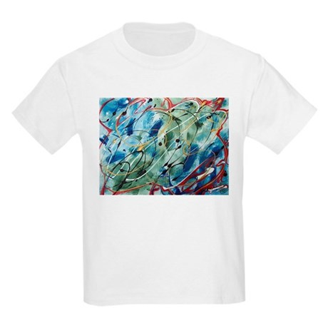 Untitled Abstract Kids Light T-Shirt