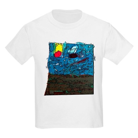 Two Asteroids Kids Light T-Shirt