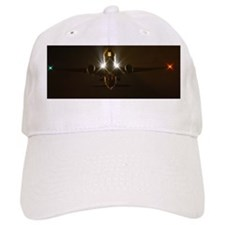 Boeing 777 night takeoff Baseball Cap