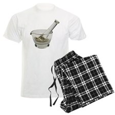 Mortar and pestle with herbs Pajamas