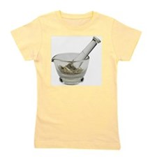 Mortar and pestle with herbs Girl's Tee