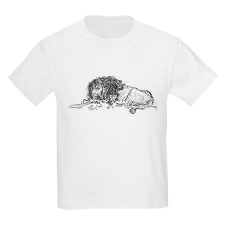 Lion Sketch Kids Light T-Shirt