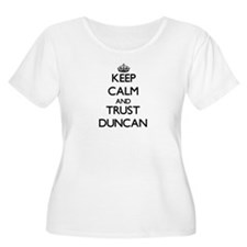 Keep Calm and TRUST Duncan Plus Size T-Shirt