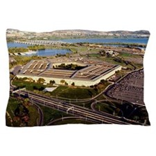 Aerial view of a military building, Th Pillow Case