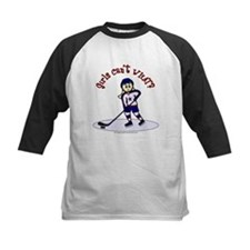 Blonde Hockey Girl Tee