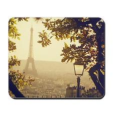 Sunset in Paris. Mousepad