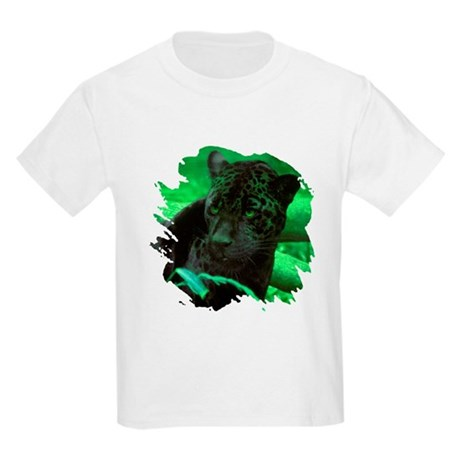 Black Jaguar Kids Light T-Shirt