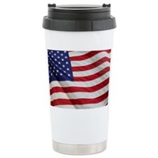 Closeup of the American Travel Mug