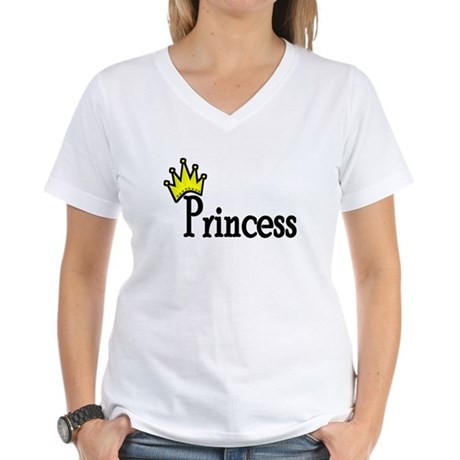 Crown Princess Women's V-Neck T-Shirt