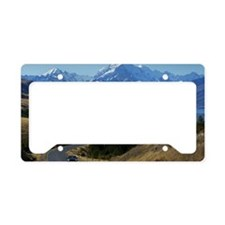Mt. Cook, New Zealand License Plate Holder