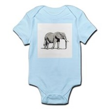 Elephant Infant Creeper: Basic Elephant