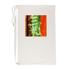 Chi Energy Symbol Laundry Bag