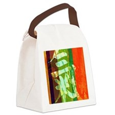 Chi Energy Symbol Canvas Lunch Bag