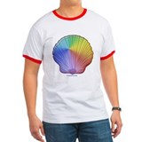 Rainbow Scallop T