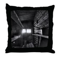 Finnish wooden sauna from the 1950's. Throw Pillow