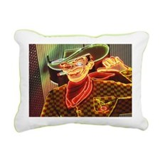 Night image shot in Las  Rectangular Canvas Pillow