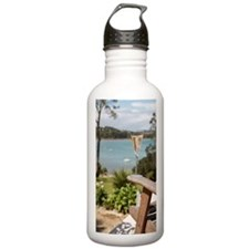 Glass of champagne on  Sports Water Bottle
