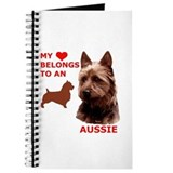 Cute Australian terrier Journal