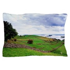Landscape with Lough Corrib in the dis Pillow Case