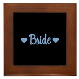 Bride - Blue Framed Tile
