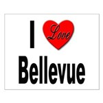 I Love Bellevue Small Poster