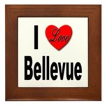 I Love Bellevue Framed Tile