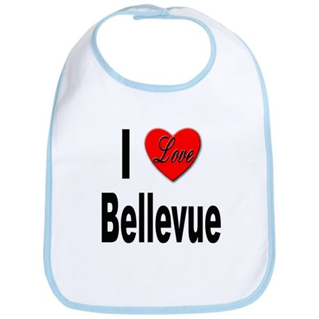 I Love Bellevue Bib