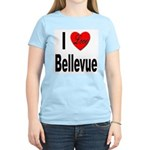 I Love Bellevue (Front) Women's Light T-Shirt