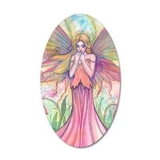 Wildflower Fairy Fantasy Art Wall Decal
