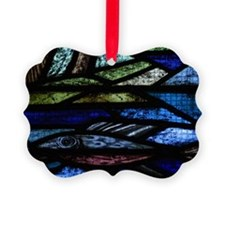 Decorative stained glass window Ornament