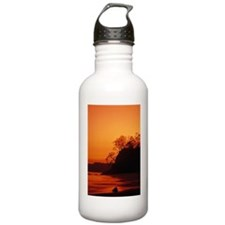 Pacific coast rain for Water Bottle