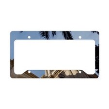 Spain, Andalusia, Malaga, Old License Plate Holder