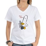 WTD: Perspective Women's V-Neck T-Shirt