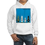 WTD: Blue Album Hooded Sweatshirt