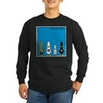 WTD: Blue Album Long Sleeve Dark T-Shirt