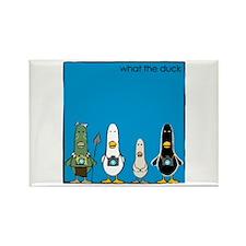 WTD: Blue Album Rectangle Magnet